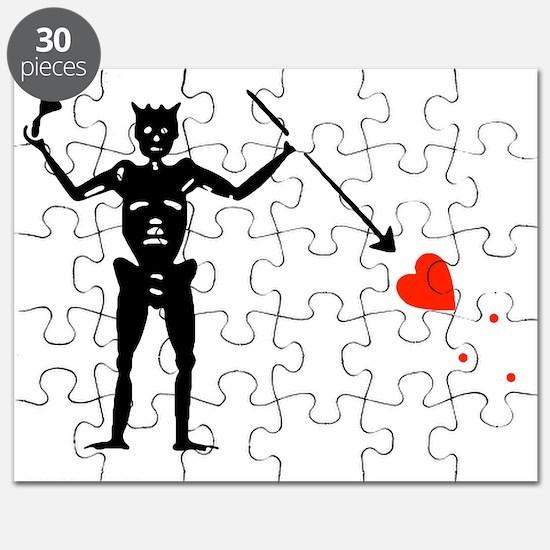 Edward Blackbeard Teach Jolly Roger:Pirate  Puzzle