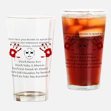 Killer Drinking Glass