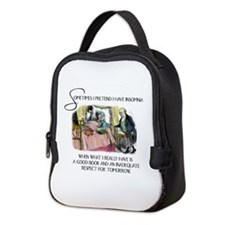 Insomnia and a Good Book Neoprene Lunch Bag