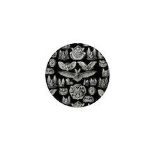 Vintage Bat Illustrations Mini Button