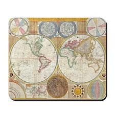 World Map 1794 Mousepad