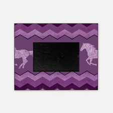 Purple Paisley Horse Picture Frame