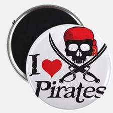I Heart Pirates Magnet