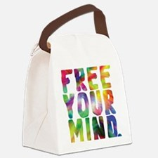 FREE YOUR MIND Canvas Lunch Bag