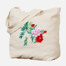 Beautiful Floral Vintage Design Tote Bag