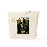 Mona's Black Lab Tote Bag