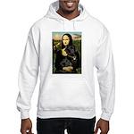 Mona's Black Lab Hooded Sweatshirt