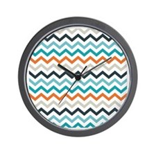Chevron Mariner Wall Clock