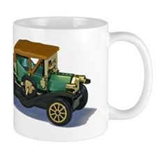 Model Car Moving On Mug