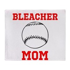 Bleacher Mom Throw Blanket