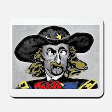 Custer ''Where is Reno?'' Mousepad