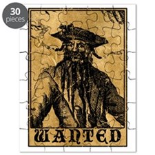 Blackbeard Wanted Poster Puzzle
