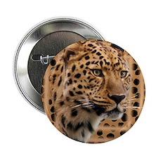 """Leopard Spots 2.25"""" Button"""