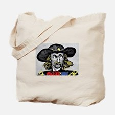 Custer ''Where is Reno?'' Tote Bag