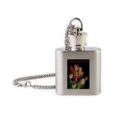 Tulips Flask Necklace