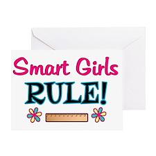 Smart Girls Rule! Greeting Card