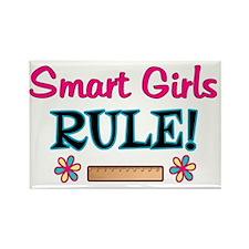 Smart Girls Rule! Rectangle Magnet