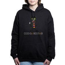 Bad Luck Pug Hooded Sweatshirt