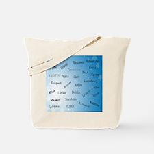 European Union Capitals Tote Bag