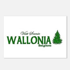 Visit Scenic Wallonia, Belgiu Postcards (Package o
