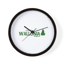 Visit Scenic Wallonia, Belgiu Wall Clock