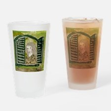 mapping the way Drinking Glass