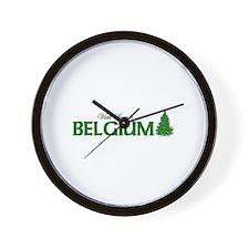 Visit Scenic Belgium Wall Clock