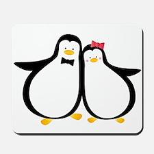 Penguin Couple Mousepad