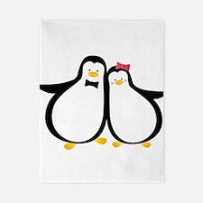 Penguin Couple Twin Duvet