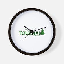 Visit Scenic Tournai, Belgium Wall Clock