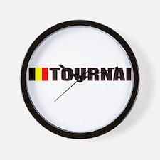 Tournai, Belgium Wall Clock