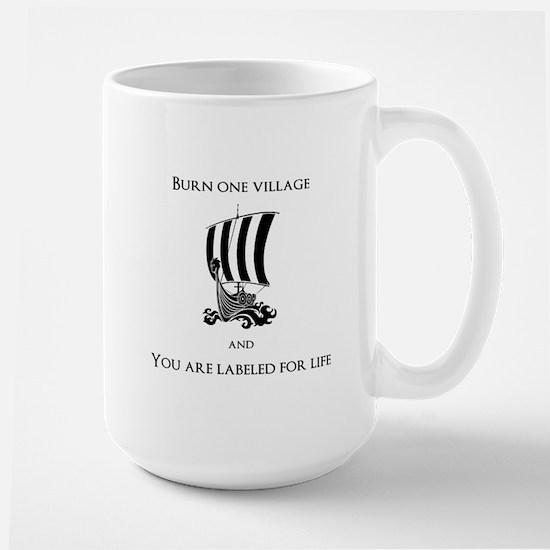 Viking -Burn one village Mugs