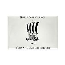 Viking -Burn one village Magnets