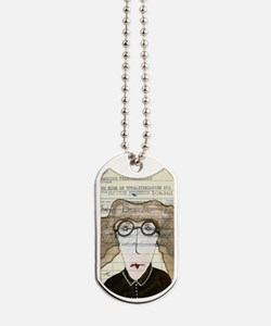 nancy pants Dog Tags