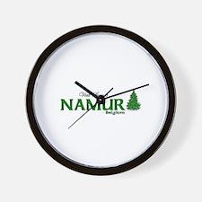 Visit Scenic Namur, Belgium Wall Clock
