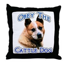 ACD Obey Throw Pillow