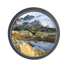 Mt Baker Washington State Wall Clock