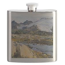 Mt Baker Washington State Flask