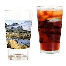 Mt Baker Washington State Drinking Glass