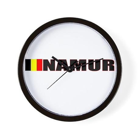 Namur, Belgium Wall Clock