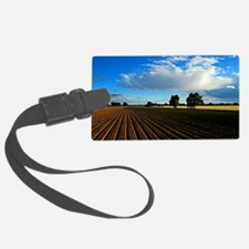 Wide Open Plains Luggage Tag