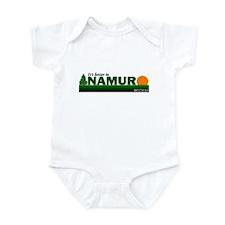 Its Better in Namur, Belgium Infant Bodysuit