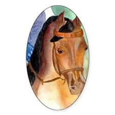 Arabian Saddleseat Horse Decal