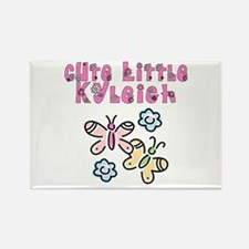 Cute Little Kyleigh Rectangle Magnet