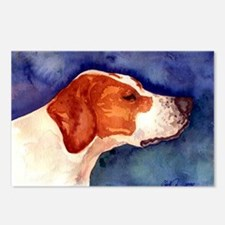 Pointer Postcards (Package of 8)