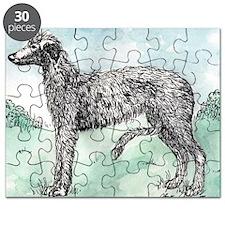 Scottish Deerhound Puzzle