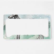 Scottish Deerhound License Plate Holder