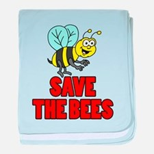 Save The Bees Kid baby blanket