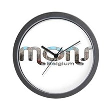 Mons, Belgium Wall Clock