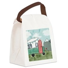 Live simply Canvas Lunch Bag
